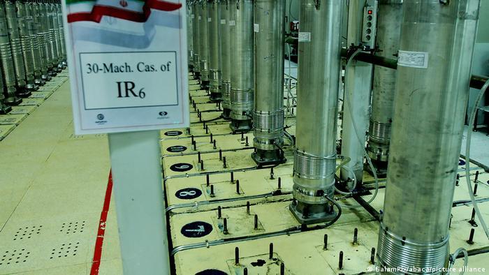 أجهزة الطرد المركزي IR6 لتخصيب اليورانيوم في إيران