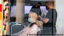 Deutschland Berlin Friseur