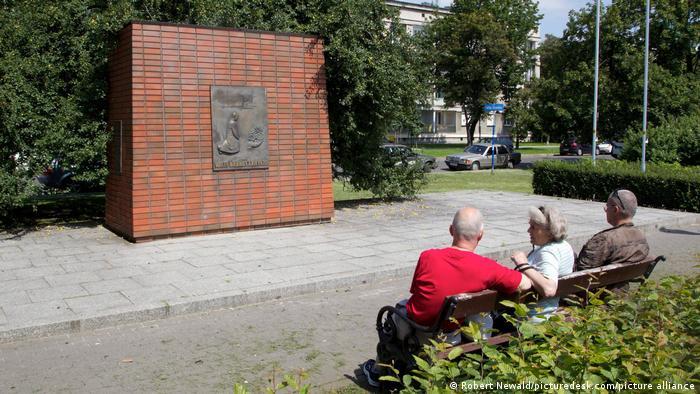 Praça Willy Brandt, em Varsóvia