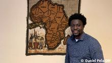 Theodore Asimeng im Afrika Center Berlin
