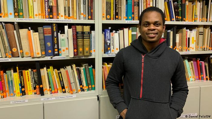 John Okoli, Master-Student an der Humboldt-Universität Berlin