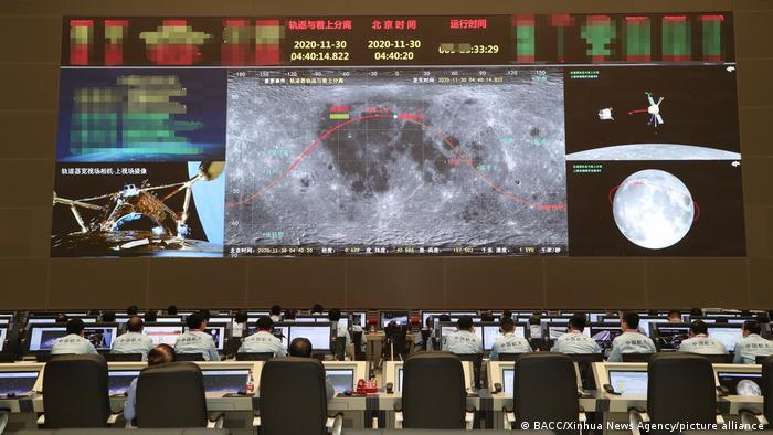 China Chang 'e 5 moon probe