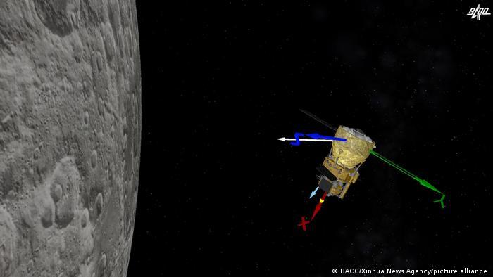 China Chang 'e-5 moon probe