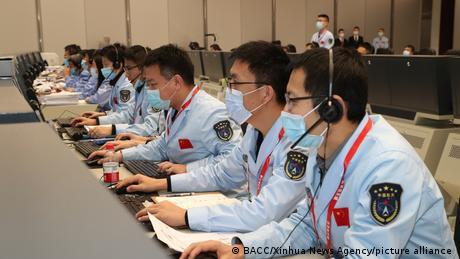 China Chang 'e-5 Mond-Probe