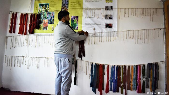 Teppich-Herstellung in Kaschmir