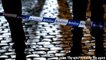Belgien Polizeieinsatz in der Nacht