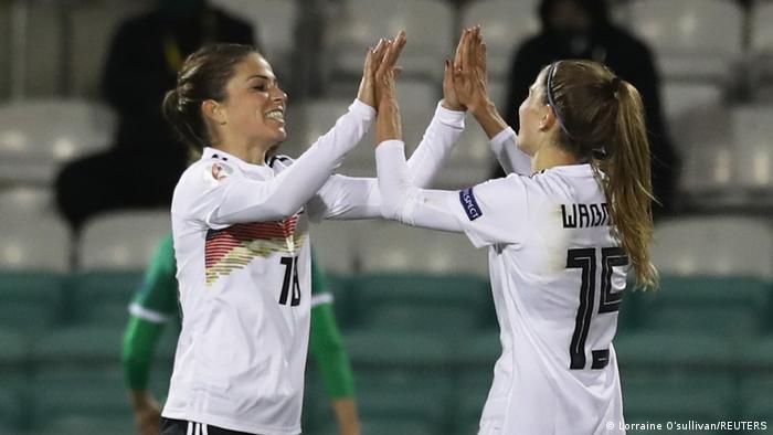 Europameisterschaft 2022 der Frauen | Qualifikation | Irland vs Deutschland | Tor (0:2)
