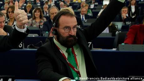 Konserwatywny polityk węgierski Jozsef Szajer