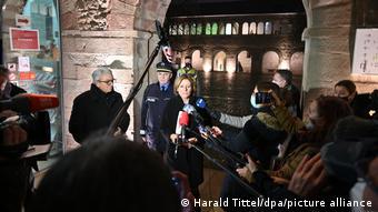 Aπό την συνέντευξη τύπου για την επίθεση στο ιστορικό κέντρο της πόλης Τρίερ