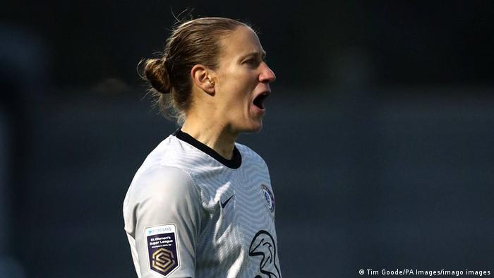FA Women's Super League | Arsenal v Chelsea | Ann-Katrin Berger