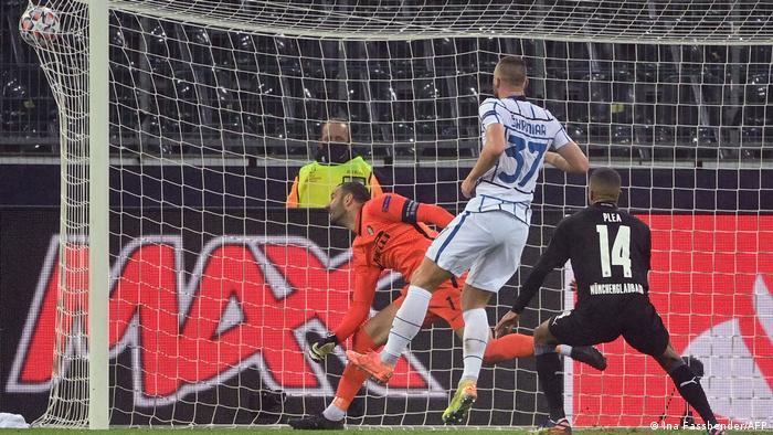 Champions League | Borussia Mönchengladbach v FC Internazionale | Tor:1:1
