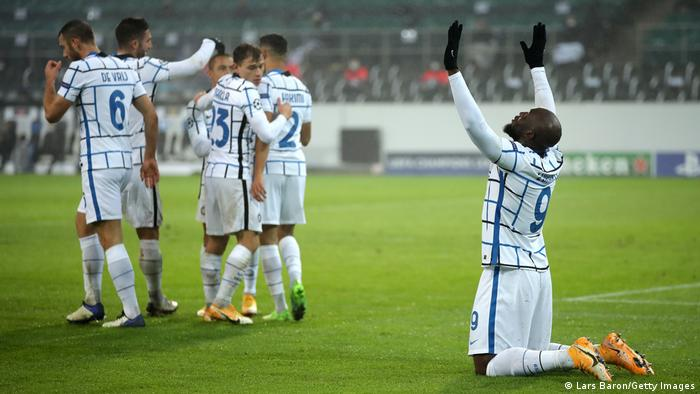 UEFA Champions League - Group B - Borussia Moenchengladbach v FC Internazionale