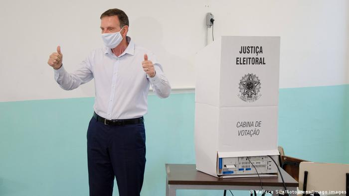Brasilien | Rio de Janeiro | scheidender Bürgermeister Marcelo Crivella
