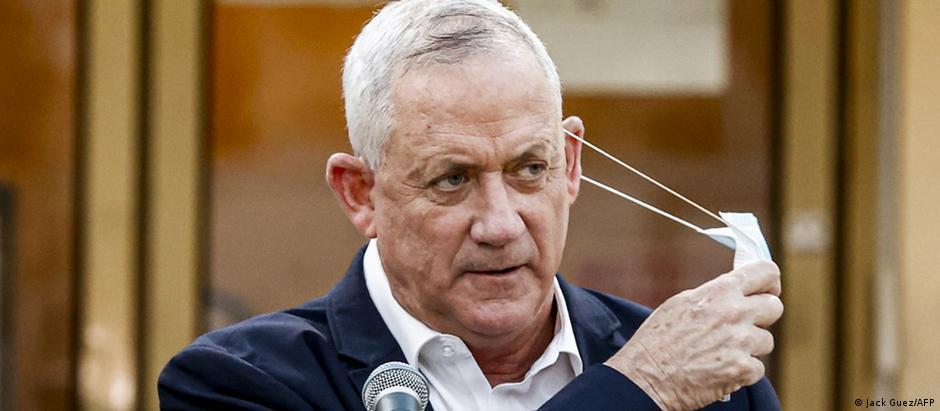 بنی گانتس، وزیر دفاع اسرائیل