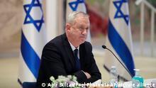 Israel Verteidigungsminister Benny Gantz