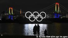 BdTD Japan Olympische Ringe in Tokio