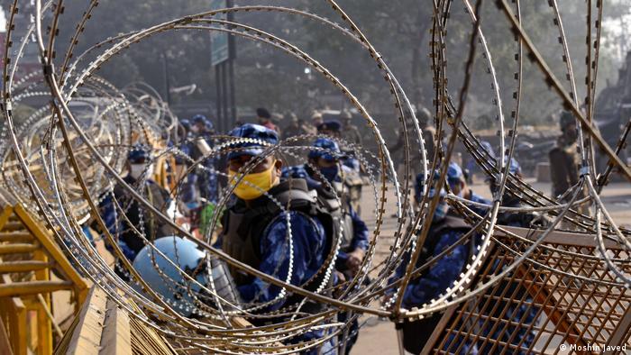 Indien Neu Delhi | Protest von Farmern