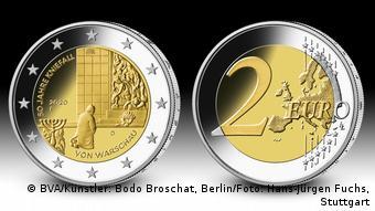 Επετειακό νόμισμα των 2 ευρώ με την ιστορική γονυκλισία