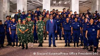 Le président Félix Tshisekedi a rencontré les officiers des FARDC début décembre à Kinshasa