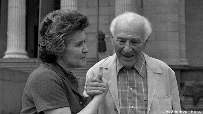 Ирина Антонова и Марк Шагал