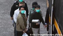Hong Kong Ivan Lam Joshua Wong Aktivisten