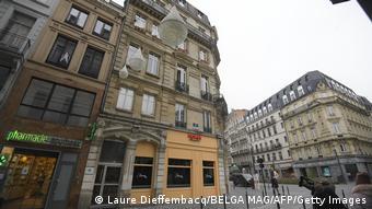 Дом в центре Брюсселя, в котором проходила нелегальная секс-вечеринка