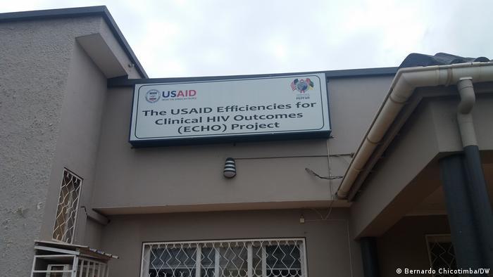 Sede da UNAIDS, em Manica