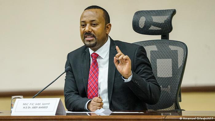 Ethiopian Prime Minister Abyi Ahmed
