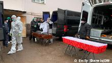 Russland Corona-Pandemie | Opfer in Ufa