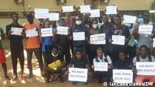 Studentenproteste an der Universität von Guinea-Bissau