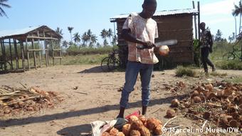 Mangel an sanitären Bedingungen in Quelimane