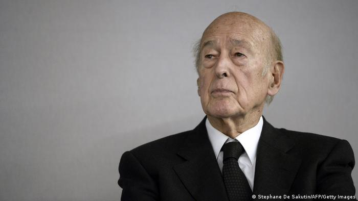 Former French President Valéry Giscard d'Estaing