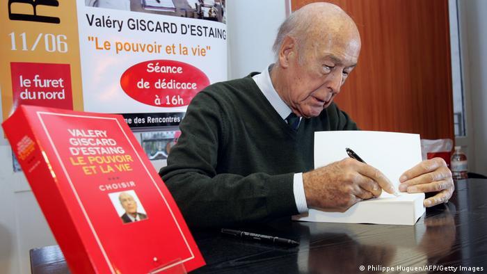 Früherer französischer Präsident Giscard d'Estaing | 2006