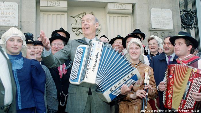Früherer französischer Präsident Giscard d'Estaing | 1991