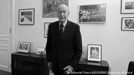 Frankreich Ex-Präsident Valery Giscard d'Estaing
