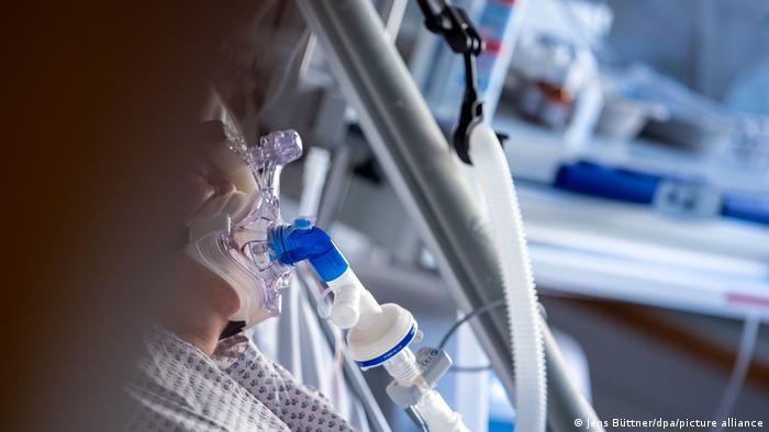 Pacientes con COVID en Alemania.