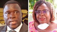 Kombibild Togo Gérard Djossou und Brigitte Adjamagbo-Johnson