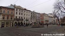 Ukraine | Coronavirus | Stadtzentrum von Lwiw