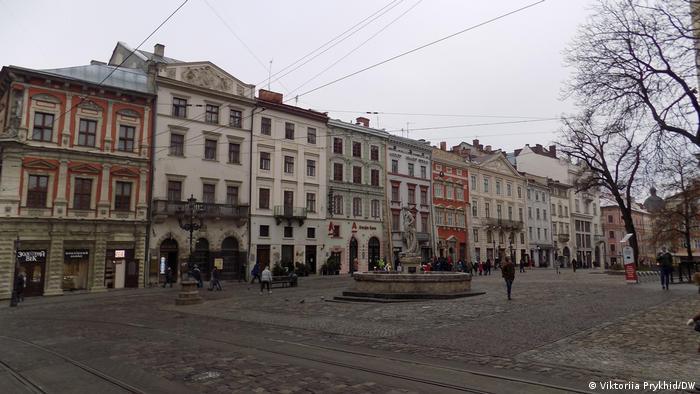 Львів у грудні 2020 року. В країні вирує коронавірусна епідемія