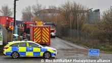 UK Explosion in Bristol