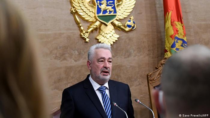 Montenegro Zdravko Krivokapic
