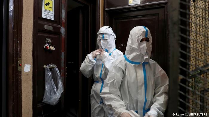 Italien Rom | Coronavirus | Spallazani-Krankenhaus