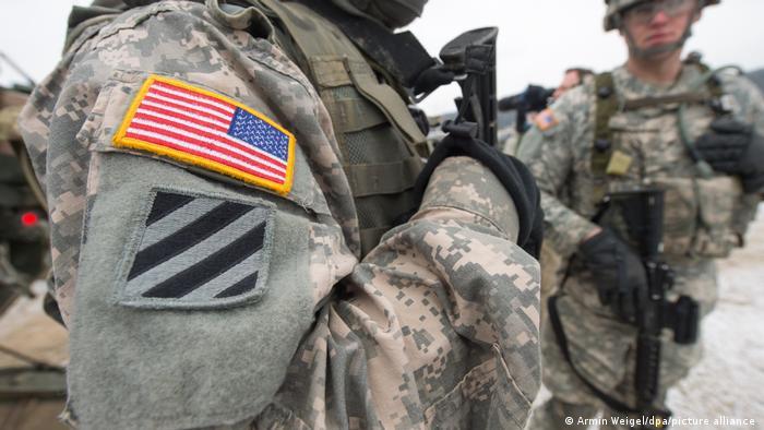 Американские солдаты в Баварии