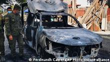 Philippinen Anschlag in in Datu Piang