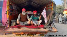 Indien Neu Delhi Farmer Proteste