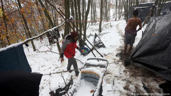 Migranti u šumama oko Velike Kladuše