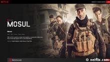 Screenshot Webseite Netflix Film Mosul