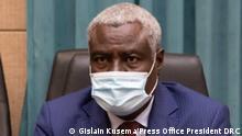 Kongo Moussa Faki Mahamat Vorsitzenden der Kommission der Afrikanischen Union