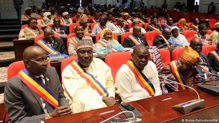 Des députés Tchadiens en plénière à N'Djaména