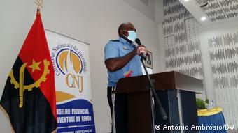 Angola Bengo | Polizei Kommandeur | Delfim Inácio
